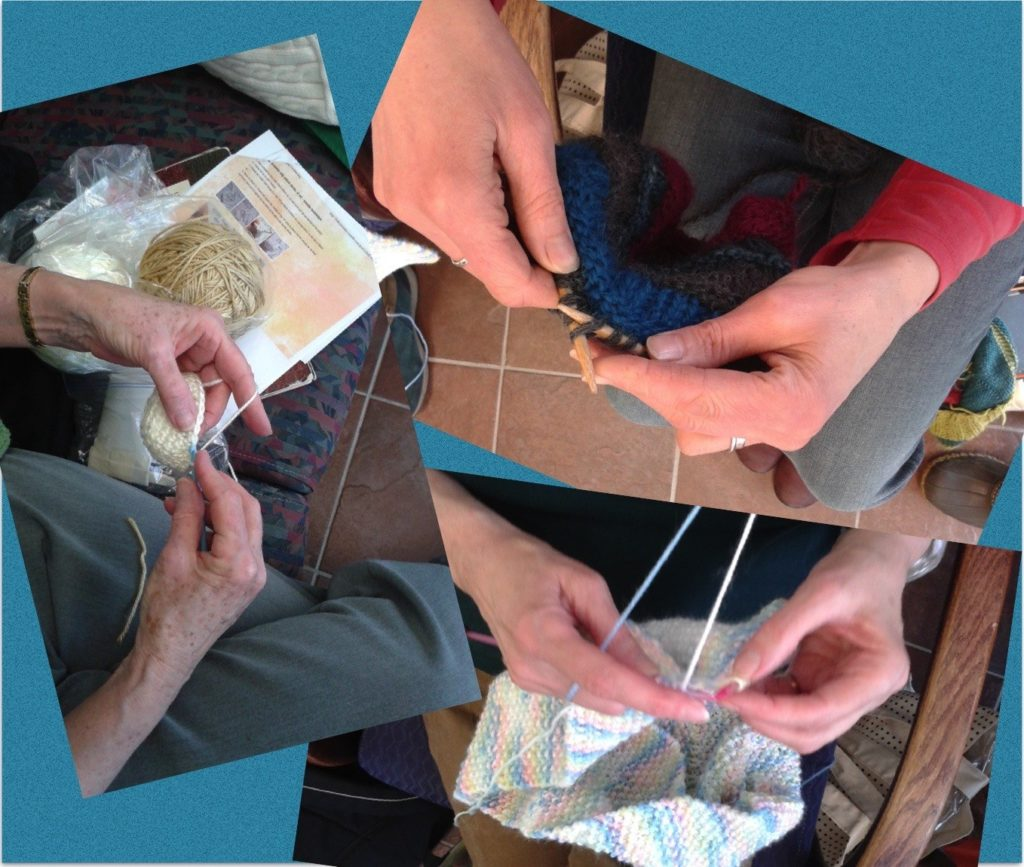 Knitting In Public : Chase the chill knitting in public friends of congress